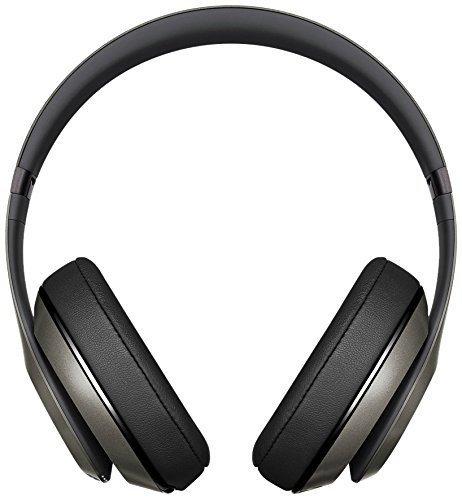 Beats by Dr. Dre Studio Wireless - Auriculares de diadema cerrados (reducción de ruido), color titanio