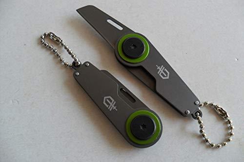 PC-068 - Canif Gerber Zip Acier Inoxydable 8 cm Lame Tanto avec Lanière Outdoor