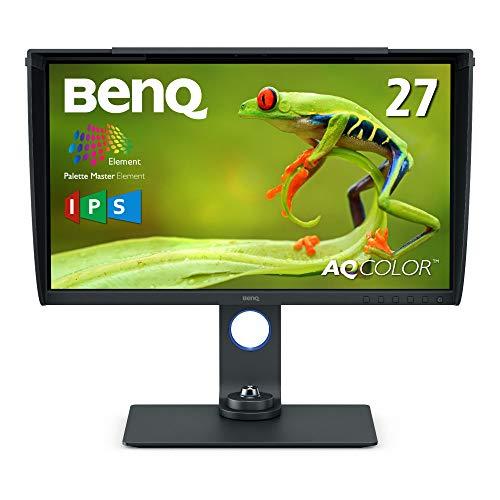 BenQ 27型カラーマネジメントモニターSW270C(WQHD/IPS/AdobeRGB99%/DisplayP397%/HDR/USB-C/60W給電/HWキャ...