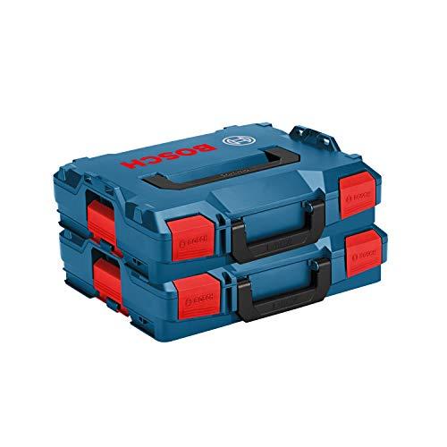 Bosch L-Boxx Set - 2x L-Boxx Gr. 1/102 Neue Ausführung ohne Einlagen L-BOXX