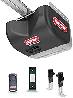 Genie Chain Drive 500 Garage Door Opener - Heavy Duty, Reliable Chain Drive - Includes 1 Pre-Programmed Garage Door Opener Remote, Lighted Wall Button, Safe-T-Beam System