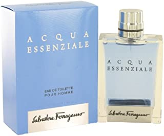 Salvatore Ferragamo Acqua Essenziale Eau De Toilette Spray For Men 100Ml/3.4Oz