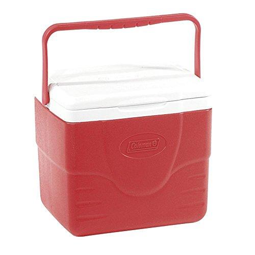 Caixa Térmica 9 QT (8,5 L), 9 Latas, Coleman, Vermelho