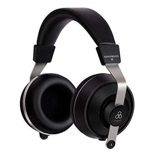 Final Sonorous III geschlossen Rückseite Kopfhörer mit austauschbarem Kabel