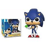 Figuras Pop Sonic Vinyl Dolls 284 # Sonic with Emerald Modelo Coleccionable Figura De Acción 10Cm, Juguete De PVC para Niños Regalo De Cumpleaños