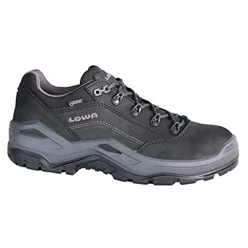 Lowa Renegade Work GTX Low S3, Farbe:schwarz, Schuhgröße:45 (UK 10.5)