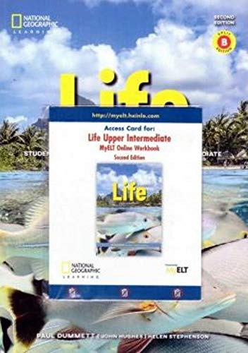 Life - BrE - 2nd ed - Upper-Intermediate: Combo Split B + MyLifeOnline (Online Workbook) + LETT