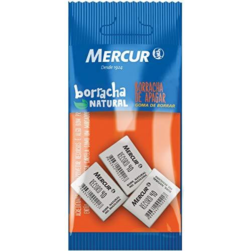 Borracha Branca Macia, Mercur, Record 40, 3 unidades