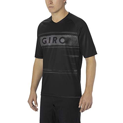 Giro Herren M Roust Jersey Fahrradbekleidung, Black/Charcoal Hypnotic, XXL