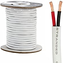Speaker Wire for in Wall Installation 12AWG/2C - 100 Feet