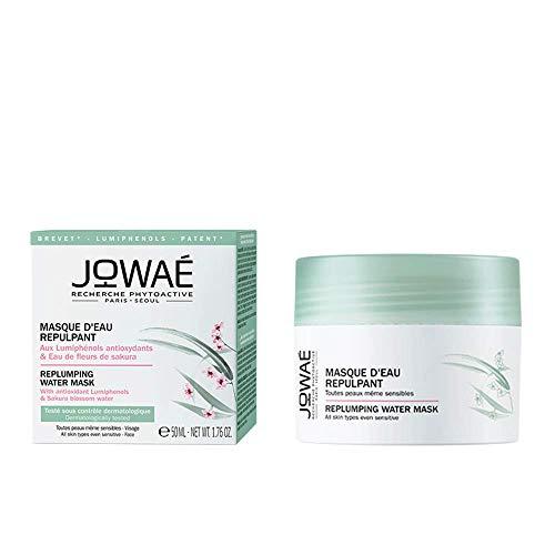 Jowaé Maschera Idratante Viso ai Lumifenoli Antiossidanti e Acqua di Fiori di Sakura, Adatta a Tutti i Tipi di Pelle anche le più Sensibili. Formato da 50ml