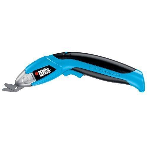 Black & Decker SZ360 3.6-Volt Ni-Cad Cordless Power Scissors - Blue
