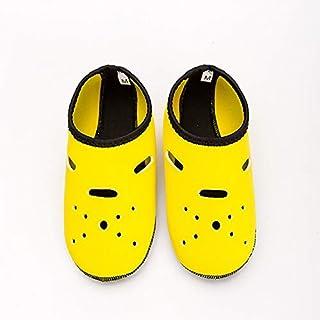 CUSHY Neoprene Diving Socks Gloves Wholesale Non-Slip Snorkeling Swimming Beach Socks for Adult Children Water Sports Shoes Yoga Shoes: Yellow, XXXL