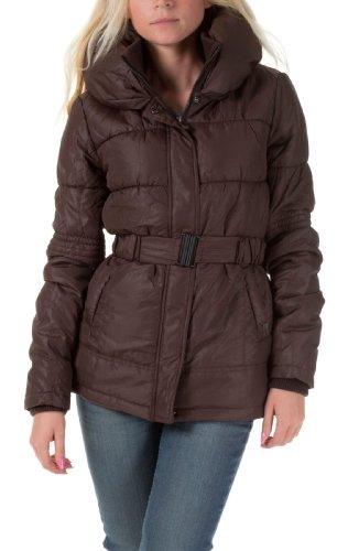ONLY Damen Daunenjacken & Steppjacken New Chrissy Nylon Jacket OTW B, Black Coffee, M