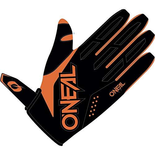 O'NEAL   Fahrrad- & Motocross-Handschuhe   Kinder   MX MTB Mountainbike   Verstellbarer Klettverschluss, Vorgeformte Passform Element Youth Glove (Orange, M (5))