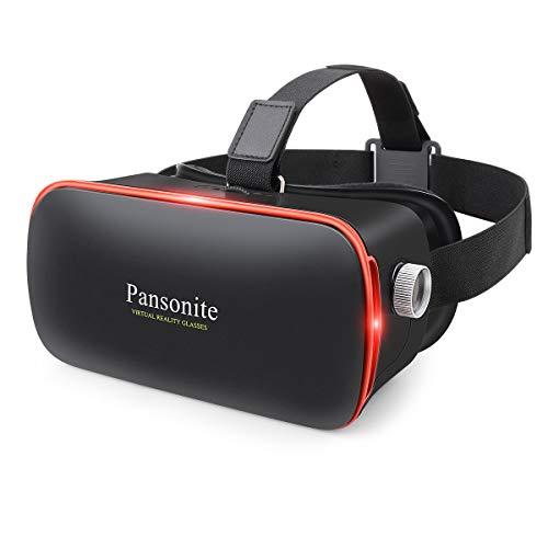 Pansonite 3D VR Glasses Virtual Reality Headset for Games & 3D Movies,...