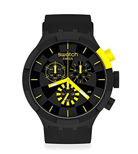 Reloj Swatch Big Bold Chrono SB02B403 Checkpoint Yellow