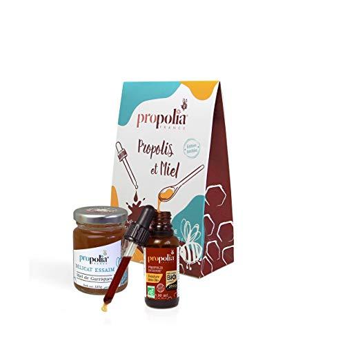 Propolia Kit Teinture Mère de Propolis Bio & Miel de Garrigues 1 Unité