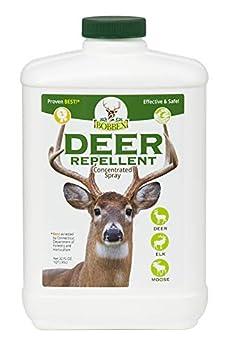 Concentrated Deer Repellent - Bobbex | Deer Elk and Moose Deterrent Concentrate  32 oz  B550100