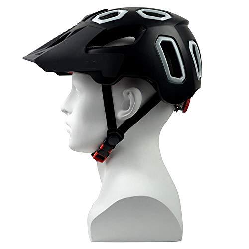 Helmet HCHW Cycle Helmets Safe Adjustable Bicycle Helmet EPS Protection Mountain Bike Helmets Road Ultralight M(54-58cm) 003