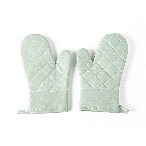 Miarui Siliconen Oven Mitts Siliconen Hittebestendige Koken Pinch Mitten Potholder Hittebestendige Keuken Handschoenen Anti-lip Grip Oven Handschoenen Hittebestendig 100% voor BBQ Koken Bakken