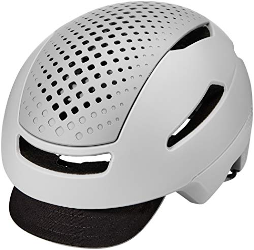 Bell Unisex - Adulto HUB Casco da bicicletta Agent Mat/Gloss Grey S