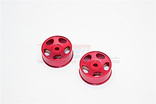 GPM XMods Generation 1 & Evolution Touring Upgrade Pièces Aluminium Front Sinkage Rims (Star) - 1Pr Red