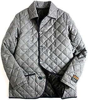 [マッキントッシュロンドン] ジャケット PHILOSOPHY フィロソフィー LINGFIELD Thermore EVOdown リバーシブル キルティングジャケット グレー