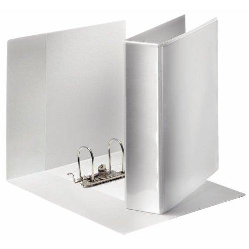 Ordner Panorama Papier A4, breit weiß
