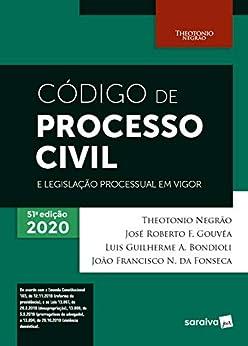 Código de Processo Civil e Legislação Processual em Vigor - 51ª Edição 2020
