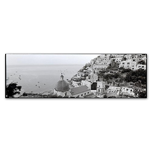 Positano I by Alan Blaustein, 10x32-Inch Canvas Wall Art