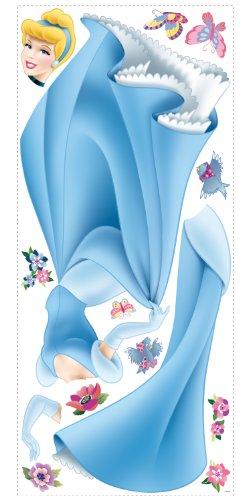 Fun House - 711608 - Ameublement et Décoration - Stickers Géants Repositionnables - Disney Princesses