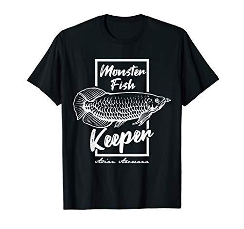 Monster Fish Keeper Asiatisches Arowana Tropische Fische T-Shirt