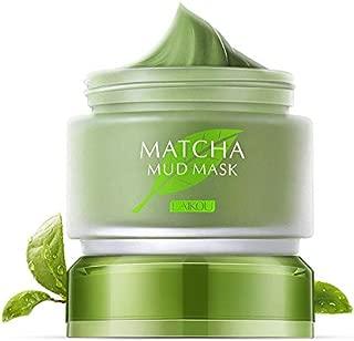 Organic MATCHA Green Tea Face Mask, Green Tea Matcha Facial Mud Mask, Improves Complexion, Anti-Aging, Detoxifying, Antioxidant, Moisturizer, Anti-Acne