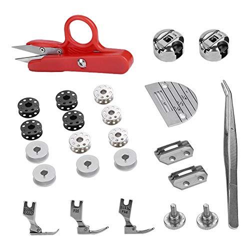 Piezas y accesorios para máquinas de coser marca HEEPDD