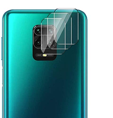 GEEMEE für Xiaomi Redmi 9C Kamera Protector de Lente de cámara,Cristal Templado Película Vidrio Templado 9H Alta Definicion Lente Protector Film- 3 Pack