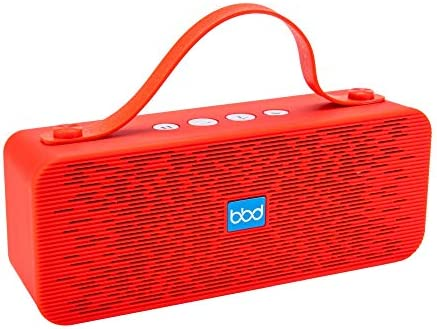 Powerful Stereo Bluetooth Wireless Speaker Portable w Hand Strap Aux Cord FM Radio Built in product image