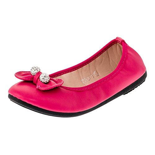 Bo aime Festliche Kinder Mädchen Ballerinas Schuhe in vielen Farben für Partys und Freizeit M287pi...