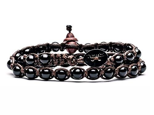 TAMASHII Bracciale Tibetano in Onice nero BHS600-01