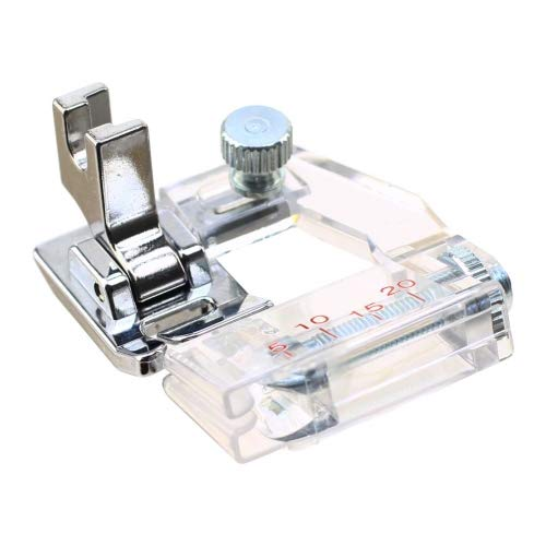 ZIGZAGSTORM 6287 Low Shank Bias Tape Binding Presser Foot for Babylock,Brother,Janome,Kenmore,Pfaff,Simplicity,Singer Sewing Machine #ESG-ABB