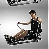 FYYDNR Rudergerät, magnetisches Rudergerät Rower for Hauptübung Digital-Monitor, 120kg Gewicht Kapazität, Bruttogewicht-17kg - 3