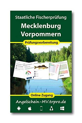 Online Trainer für die staatliche Fischerprüfung Mecklenburg-Vorpommern 2020 (Zugangslizenz)