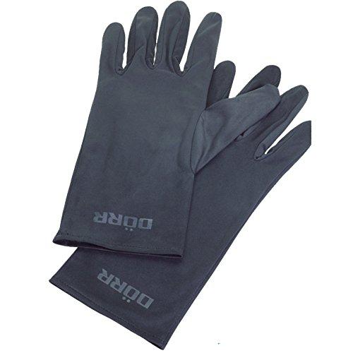 Dorr Microvezel Handschoenen - Zwart, Large