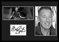 10種類! ブルース・スプリングスティーン/Bruce Springsteen /サインプリント&証明書付きフレーム/BW/モノクロ/ディスプレイ/3W (09) [並行輸入品]