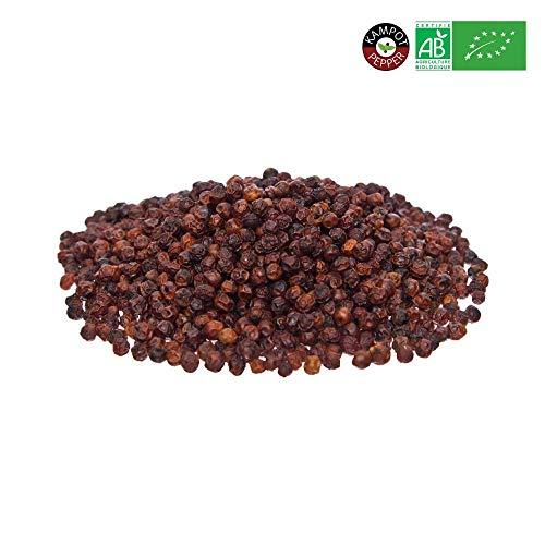 KHLA - Rode Kampot peper Premium IGP - 1kg - peperkorrels - verkregen uit biologische landbouw