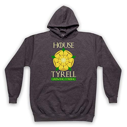 Inspired Apparel Inspirado por Game of Thrones House Tyrell No Oficial Adultos Sudadera con Capucha