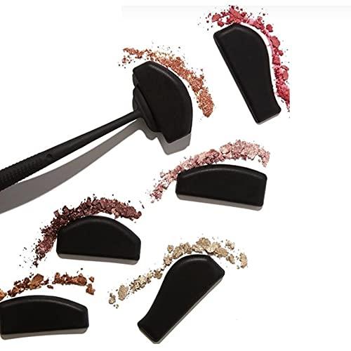 Sombra de ojos perezosa en forma de pliegue de siete piezas,plantilla de sombra de ojos,maquillaje terminado en 5 segundos,adecuado para principiantes y usuarios de maquillaje profesionales