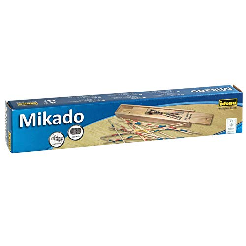 Idena 6060012 Mikado dans boîte en Bois, Multicolore
