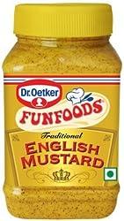 Funfoods Traditional English Mustard, 300g