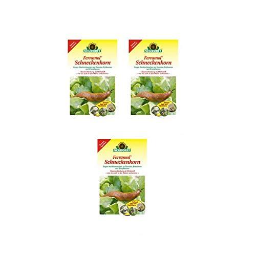 Neudorff Ferramol® Schneckenkorn 6 kg - wirkt gegen Nacktschnecken an Gemüse, Erdbeeren und Zierpflanzen